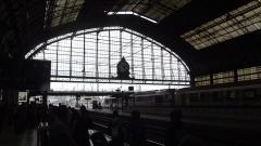 Gare de Bordeaux-Saint-Jean - English: Bordeaux-Saint-Jean in summer time