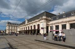 Gare de Bordeaux-Saint-Jean - English: Gare de Bordeaux-Saint-Jean côté départs