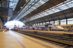 Gare de Bordeaux-Saint-Jean - English: Bordeaux train station, France