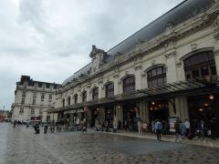 Gare de Bordeaux-Saint-Jean - English: Gare de Bordeaux-Saint-Jean, Bordeaux, France, July 2014