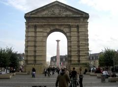 Porte d'Aquitaine -  Porte d'Aquitaine. Bordeaux, France