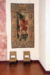 Château des Ducs d'Epernon, actuellement Musée historique et iconographique - English: Tapisserie château de Cadillac Gironde