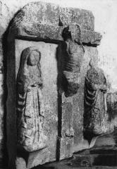 Eglise Saint-Christophe - Deutsch:   Relief in der Kirche St-Christophe Courpiac