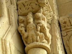 Eglise Saint-Christophe - English:   Courpiac église Portail