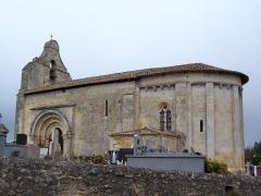 Eglise Saint-Christophe - Français:   Église Saint-Christophe de Courpiac (Gironde, France)