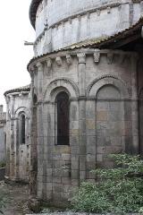 Eglise Notre-Dame - Français:   Guîtres - Ancienne abbatiale Notre-Dame Abside vue du Nord-Est