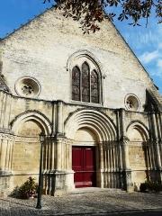 Eglise Notre-Dame - Français:   Portail ouest de l\'abbatiale Notre-Dame, Guîtres, Gironde, France