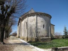 Eglise Saint-Martin - English: Église Saint-Martin de Haux