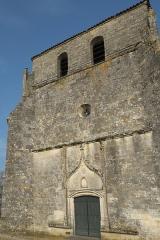 Eglise Saint-Pierre - Deutsch: Kirche Saint-Pierre in Pujols (Gironde) im Département Gironde (Région Aquitaine/Frankreich), Westfassade