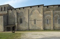 Eglise Saint-Pierre - Deutsch: Kirche Saint-Pierre in Pujols (Gironde) im Département Gironde (Région Aquitaine/Frankreich), Ansicht von Süden