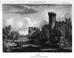 Enceinte fortifiée - English: City walls of Rions (Gironde, France)