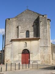Eglise Saint-André - English: Saint-André-du-Nom-de-Dieu's church of Saint-André-de-Cubzac (Gironde, France).