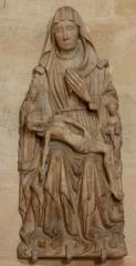 Eglise Saint-André - English: Eglise; Cubizac-les-Ponts, Gironde, Aquitaine, France;; ref: PM_094207_F_Cubzac_les_Ponts;; Photographer: Paul M.R. Maeyaert; www.pmrmaeyaert.eu; © Paul M.R. Maeyaert; pmrmaeyaert@gmail.com; Cultural heritage; Cultural heritage/Sculpture; Europeana; Europe/France/Cubizac-les-Ponts;