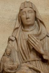 Eglise Saint-André - English: Eglise; Cubizac-les-Ponts, Gironde, Aquitaine, France;; ref: PM_094209_F_Cubzac_les_Ponts; sculpture en albâtre, 13e S (?); Photographer: Paul M.R. Maeyaert; www.pmrmaeyaert.eu; © Paul M.R. Maeyaert; pmrmaeyaert@gmail.com; Cultural heritage; Cultural heritage/Sculpture; Europeana; Europe/France/Cubizac-les-Ponts;
