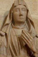 Eglise Saint-André - English: Eglise; Cubizac-les-Ponts, Gironde, Aquitaine, France;; ref: PM_094210_F_Cubzac_les_Ponts; sculpture en albâtre, 13e S (?); Photographer: Paul M.R. Maeyaert; www.pmrmaeyaert.eu; © Paul M.R. Maeyaert; pmrmaeyaert@gmail.com; Cultural heritage; Cultural heritage/Sculpture; Europeana; Europe/France/Cubizac-les-Ponts;