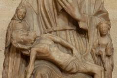 Eglise Saint-André - English: Eglise; Cubizac-les-Ponts, Gironde, Aquitaine, France;; ref: PM_094211_F_Cubzac_les_Ponts; sculpture en albâtre, 13e S (?); Photographer: Paul M.R. Maeyaert; www.pmrmaeyaert.eu; © Paul M.R. Maeyaert; pmrmaeyaert@gmail.com; Cultural heritage; Cultural heritage/Sculpture; Europeana; Europe/France/Cubizac-les-Ponts;