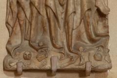 Eglise Saint-André - English: Eglise; Cubizac-les-Ponts, Gironde, Aquitaine, France;; ref: PM_094212_F_Cubzac_les_Ponts; sculpture en albâtre, 13e S (?); Photographer: Paul M.R. Maeyaert; www.pmrmaeyaert.eu; © Paul M.R. Maeyaert; pmrmaeyaert@gmail.com; Cultural heritage; Cultural heritage/Sculpture; Europeana; Europe/France/Cubizac-les-Ponts;