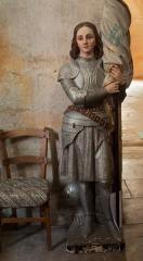 Eglise Saint-André - English: Eglise; Cubizac-les-Ponts, Gironde, Aquitaine, France;; ref: PM_094216_F_Cubzac_les_Ponts; statue de Jeanne d'Arc; Photographer: Paul M.R. Maeyaert; www.pmrmaeyaert.eu; © Paul M.R. Maeyaert; pmrmaeyaert@gmail.com; Cultural heritage; Cultural heritage/Sculpture; Europeana; Europe/France/Cubizac-les-Ponts;