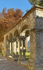 Ancien couvent des Cordeliers - Français:   Saint-Emilion, cloitre des Cordeliers, Nouvelle-Aquitaine, Gironde, France.