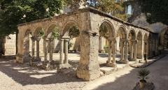 Ancien couvent des Cordeliers - Français:   Cloître des Cordeliers, à Saint-Emilion (France)
