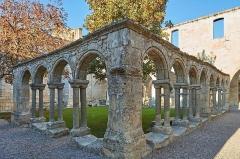 Ancien couvent des Cordeliers - Français:   Le Cloître des Cordeliers