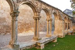Ancien couvent des Cordeliers - Français:   Style architectural roman Cloître des Cordeliers