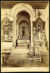 Ancienne église Saint-Martin de Mazerat - Français:   St Martin de Mazerat  (photographies de Brutails)