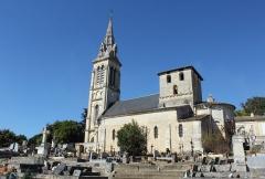 Eglise - Français:   Vue de l\'église de Saint-Michel de Fronsac