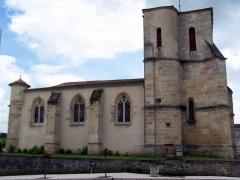 Eglise Saint-Romain - Français:   Église Saint-Romain de Targon (Gironde, France)