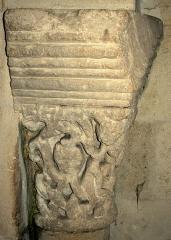 Eglise Saint-Etienne - Tauriac église chapitau roman