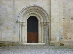 Ancien prieuré d'Arthous - Français:   Porte de l\'église