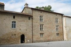 Ancien prieuré d'Arthous - Français:   Logis abbatial de l\'abbaye d\'Arthous. Façade sud.