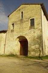 Ancien prieuré d'Arthous - Français:   Abbaye d\'Arthous - l\'église,côté ouest