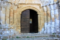 Eglise Saint-Barthélémy - Français:   Eglise de Pimbo - Ébrasements du portail