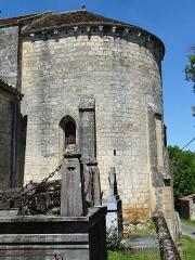 Eglise Saint-Sardos de Laurunque - Français:   Gavaudun - Église Saint-Sardos de Laurenque - Vue du chevet