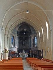 Eglise Sainte-Livrade - Français:   Sainte-Livrade-sur-Lot - Église Sainte-Livrade - Nef -
