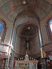 Eglise Sainte-Livrade - Français:   Sainte-Livrade-sur-Lot - Église Sainte-Livrade - Nef - Abside