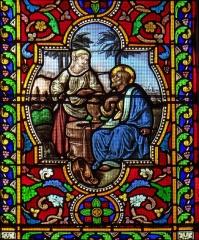 Eglise Sainte-Livrade - Français:   Sainte-Livrade-sur-Lot - Église Sainte-Livrade - Vitraux