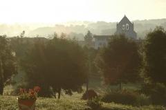 Eglise Saint-Martin -  Ahetze, le clocher de l'église