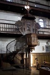 Eglise Saint-Vincent - English:  Pulpit.