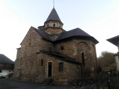 Eglise Saint-Blaise - English: L'Hôpital-Saint-Blaise church (World Heritage Site)