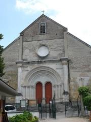 Eglise de l'Assomption, ancienne cathédrale - English: The cathedral of Our-Lady-of-the-Assumption in Lescar (Pyrénées-Atlantiques, Nouvelle-Aquitaine, France).
