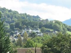 Vieux Château de Mauléon - English: The Haute-Ville (=High-City) and the castle of Mauléon-Licharre, (Pyrénées-Atlantiques, France).