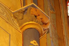Eglise Saint-Girons - Français:   Cheval