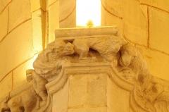 Eglise Saint-Girons - Français:   Dragon et lion