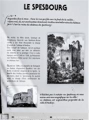 Ruines du château de Spesbourg - Français:   Informations sur le château de Spesbourg. Andlau. Bas-Rhin