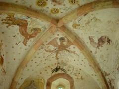Eglise protestante de Fouday -  Fresques restaurées de l'église protestante de Fouday (Bas-Rhin, Alsace)