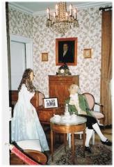 Ancien Hôtel Marco - Deutsch:   Zimmer des Notars Gustav Schwartz aus dem 18.JH.