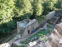 Ruines du château de Schoeneck -  P1080528