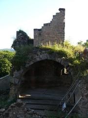 Ruines du château de Schoeneck -  P1080516